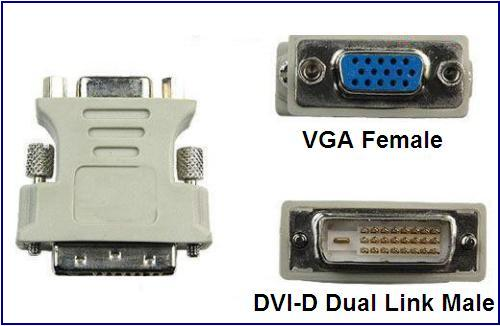 Dvi I To Vga Transform Into Dvi D Solved Graphics Cards